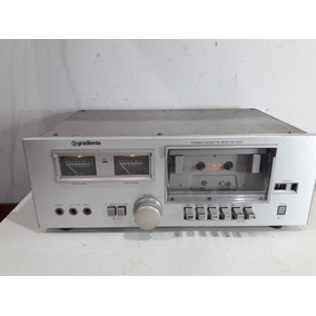 Tape Deck Gradiente Cd-2100 No Estado
