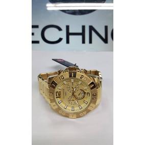 Relógio Technos Dourado Grande Cronógrafo Legacy Os20ib/4x