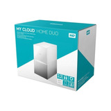 Dd Ext Ethernet 12tb Wd My Cloud Home Duo 3.5 - 2usb3.0 Exp