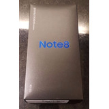 Samsung Galaxy Note 8 128gb Preto Lacrado Carregador Sem Fio