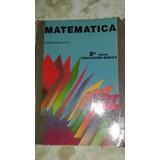 Libro: Matemática 8vo Año Ramón Rodriguez