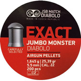 Balines Jsb Exact Jumbo Monster 5,5mm 1.645g 25.39gr X 200