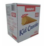 2 Cxs Kid Cascão Marvi P/ Sorvetes - 120 Unidades(promoção)
