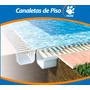 Kit Canaleta De Piso 6 Mts + Rejilla , Desagote La Plata