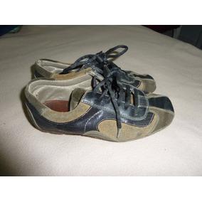 Zapatos Boating Mocasin Talle 35! Como Nuevo! Mujer