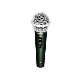 Microfone Profissional Com Cabo M-508 Único = Shure ( Sm58 )