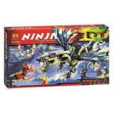 Ninjago Verde Ataque Al Morro Dragon Bloques Para Construir