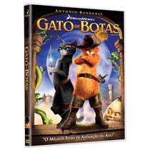 Dvd Gato De Botas - Original Lacrado