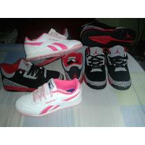 Zapatos Deportivos Jordan Y Reebok