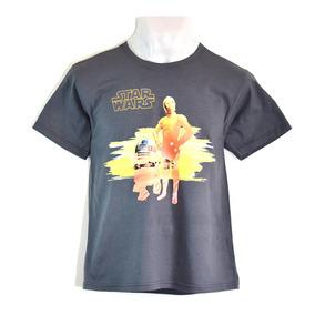 Playera Star Wars C3-po Y R2-d2 Niño
