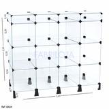 Balcão De Vidro Com Porta Bijuterias - 1,20 X 1,10 X 0,30