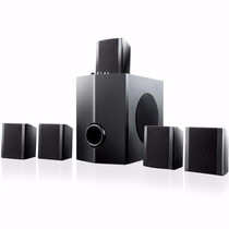 Home Theater Multilaser Sp087 40w 5 Canais Som Casa 6 Caixas