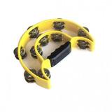 Pandero Medialuna Baldassare Ptwj220y Color Amarillo 12 Cuot