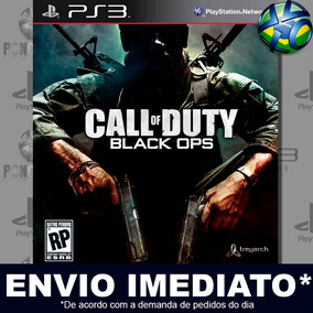 Jogo Ps3 Call Of Duty Black Ops + Dlc Psn Play 3 Digital