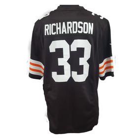 Jersey Nike Cleveland Browns Nfl (richardson   33) Caballero ffc5fa922b9