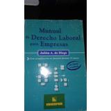 Manual De Derecho Laboral Para Empresas. De Diego