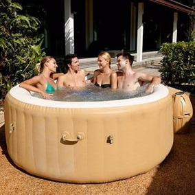 spa circular inflable intex pure spa jacuzzi personas