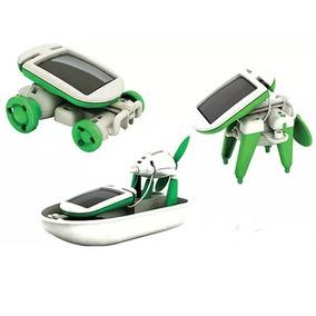 Kit Juguete Armable 6 En 1 Celda Solar Didáctico