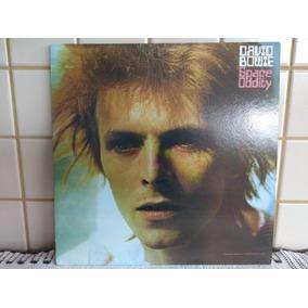 Lp David Bowie - Space Oddity - Importado Uk Green Como Novo