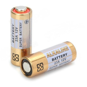 Pilha Bateria Ion De Litio 23a 12v Alcalina 5 Unidades