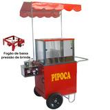 Carrinho Pipoca - Modelo 4213000+ Brinde Fogão A Gás