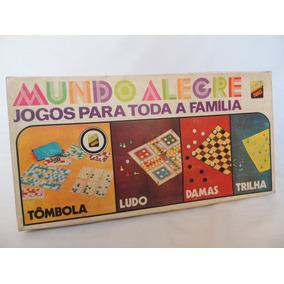 Jogos Clássicos - Tômbola - Damas - Ludo - Trilha - Nig