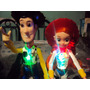 Lote De 2 Figuras Jessy Y Woody De Toy Story Con Luz