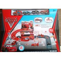 Brinquedo Pista Super Parking Garagem Carros 2 Mcqueen