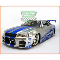 Jada Nissan Skyline Gt-r Velozes E Furiosos - Escala 1/24