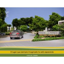 Terreno En Fracc. Paseo Del Parque. Playa Del Carmen