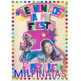 Bienvenidos A Mi Fiesta. Piñata. Soy Luna. Ladybug. Peppa