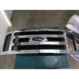 Parrilla Careta Cromada Ford Super Duty F250 F350 08/10