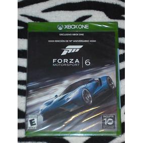 Forza Motorsport 6 Nuevo Fisico Y Sellado En Español