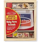 Baby Zoo Animals Sellos - Melissa And Doug- Giro Didactico