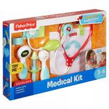 Fisher Price Kit Medico Juego Para Niños Dvh14 Mattel