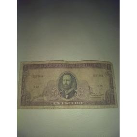 Billete De Un Escudo Chileno