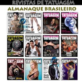 Revista Almanaque Brasileiro De Tatuagem Tatto Novas Lacrada