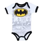 Pañalero Batman Dc Comic Logo Super Heroe Disfraz Bebe 26874