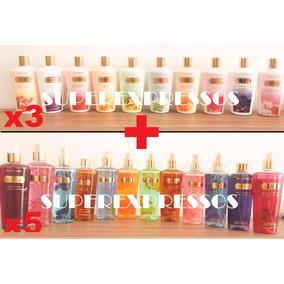 Victoria Secrets 3 Creme Hidratante + 5 Body Splash