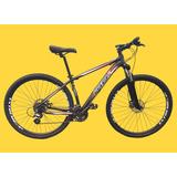 Bicicleta 29 24v Freio Hidraulico Cambios Shimano + Brinde
