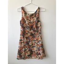 Vestido Floreado Formal / Verano Sears
