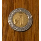 Moneda 1 Nuevo Peso 1995 Y 1993