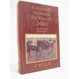 Caballos Catalogo De Ventas 2001. Fernando Zañartu