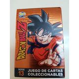 Mazo De Cartas De Dragon Ball Z Serie 13 Original