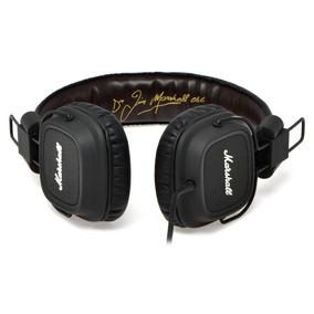 Fone De Ouvido Headphone Marshall Major Preto Profissional