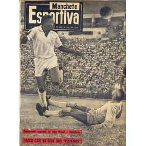 Manchete Esportiva Nº 183 - 23.05.59 - Santos Campeão