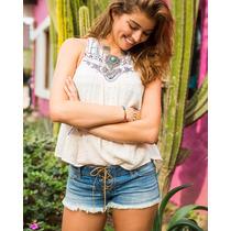Mini Shorts Hollister Denim Jeans Importado Roupa Feminino