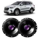 Par Alto Falantes Pioneer Portas Dianteira Hyundai Santa Fe