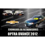 Cobertor Cromado De Retrovisores Optra Advance 2009 Al 2014