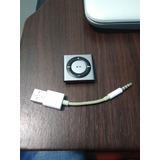 Ipod Suffle 2gb + Cargador, Sin Audifonos. Funcional 100%
